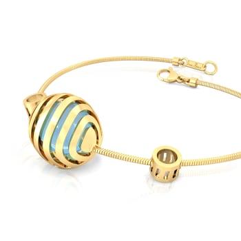 Wavy Blue Gemstone Bracelets