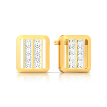 Dazzling Duet Diamond Earrings