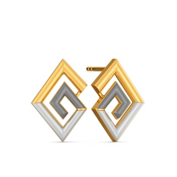 Power Meet Gold Earrings