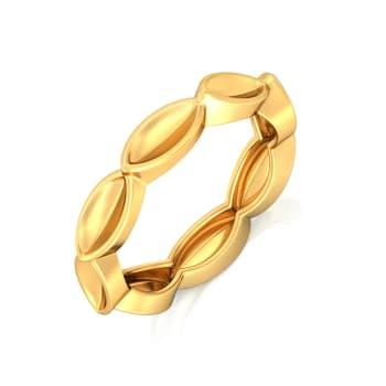 Fun & Foliage Gold Rings