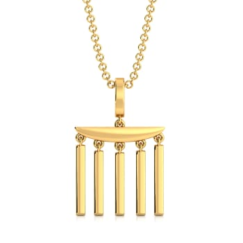 Colosseum Craft  Gold Pendants
