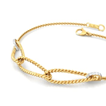 Ellipsia Diamond Bracelets