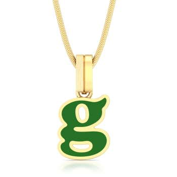 Girl power Gold Pendants