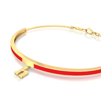 High five Gold Bracelets