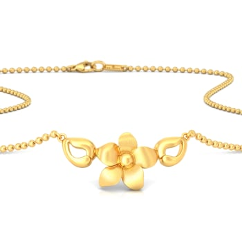Bloom in Retro Gold Necklaces