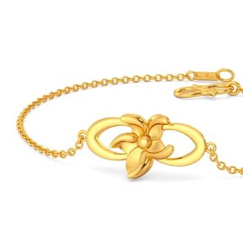 Morning Glory Gold Bracelets