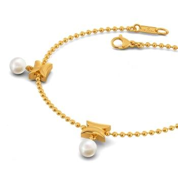 Dangle Dot Gemstone Bracelets