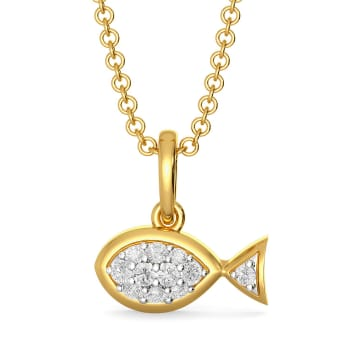 Fishy Fab  Diamond Pendants