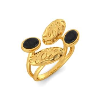 Black Panther Gemstone Rings