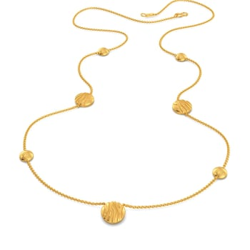 Stripe Kingdom Gold Necklaces
