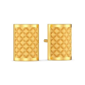 The Mamba Maze Gold Earrings