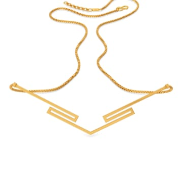 Glam Quotient Gold Necklaces
