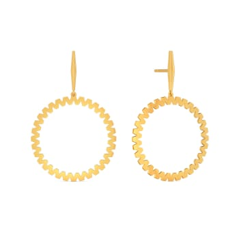 Supersized Volume Gold Earrings