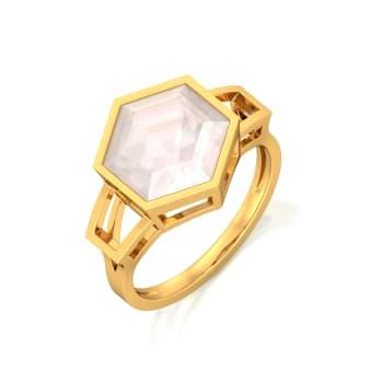 Pop of Pink Gemstone Rings