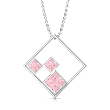 Pink Candy Gemstone Pendants
