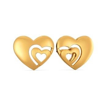 Poised Paramour Gold Earrings