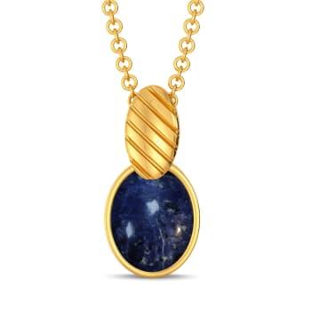 Bleach Block Gemstone Pendants