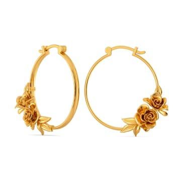 Rose Retreat Gold Earrings