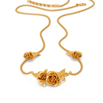 Rose Retreat Gold Necklaces