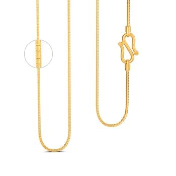 22kt Textured Box chain  Gold Chains