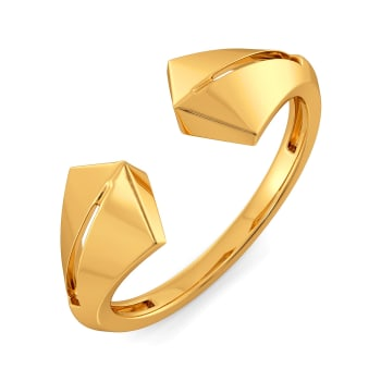 Fit to Bold Gold Rings