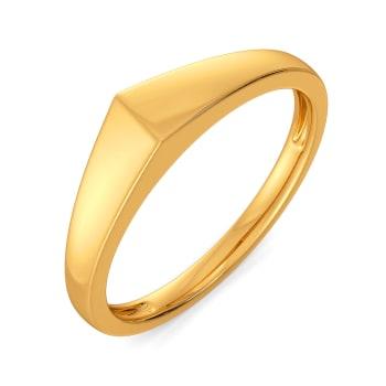 Super Suit Gold Rings