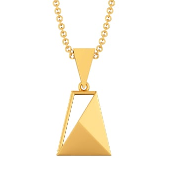 Fit to Formal Gold Pendants