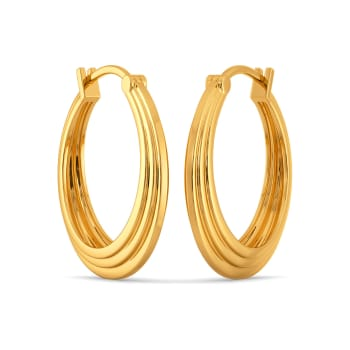 Suit Suave Gold Earrings