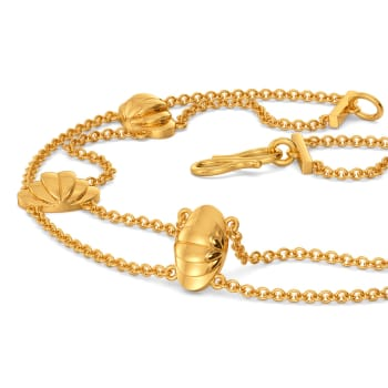 Suit for Cosmos Gold Bracelets