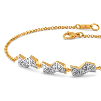 Go Gingham Diamond Bracelets