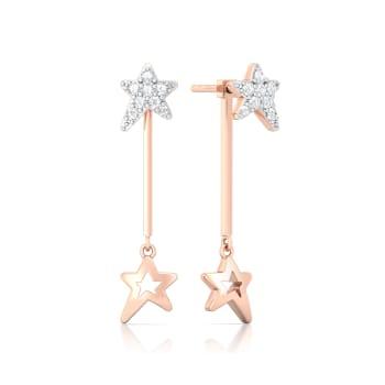 Summer Stars Diamond Earrings