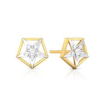 Sky Gazer Diamond Earrings