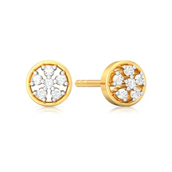 Ferris Wheel Diamond Earrings
