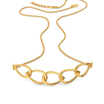 Match the Mesh Gold Necklaces