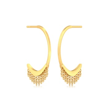 Bohemian Rapture Gold Earrings