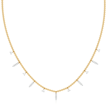 Glimmer Glow Diamond Necklaces