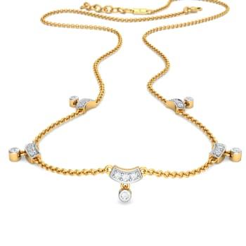 Dingle Dangle Diamond Necklaces