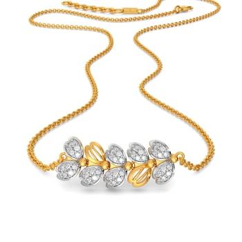 Floral Feat Diamond Necklaces