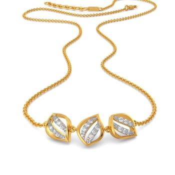 A Petal Place Diamond Necklaces