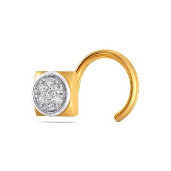 Neutral Notes Diamond Nose Pins