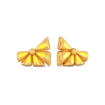 Fusion Fruit Gold Earrings