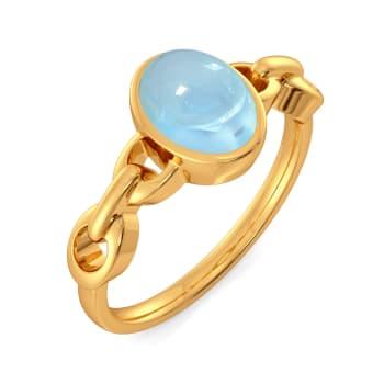 Blue Hues Gemstone Rings