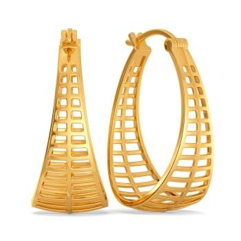 Peppy Whims Gold Earrings
