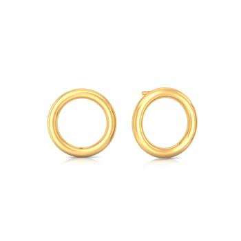 Sleek N Meek Gold Earrings
