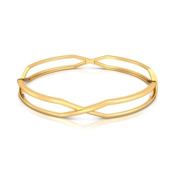 X- static  Gold Bangles