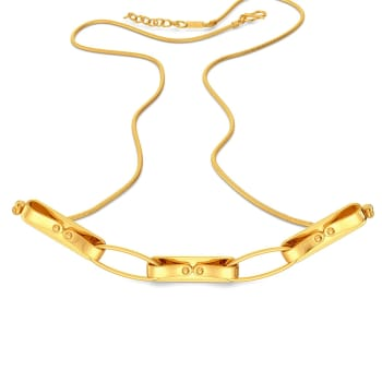 Lock N Latch Gold Necklaces