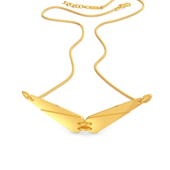 Safari Sleek Gold Necklaces