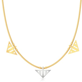 Double Dash Gold Necklaces