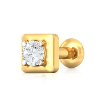 Tetra-fic Diamond Nose Pins