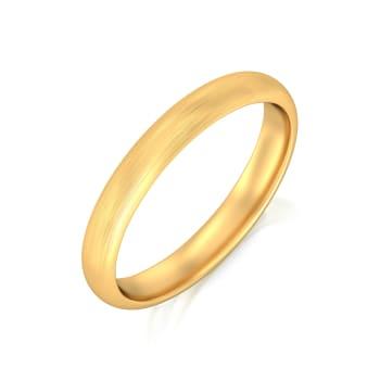 Subtle tones Gold Rings